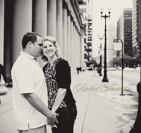 Emily and Justin, a Chicago engagement