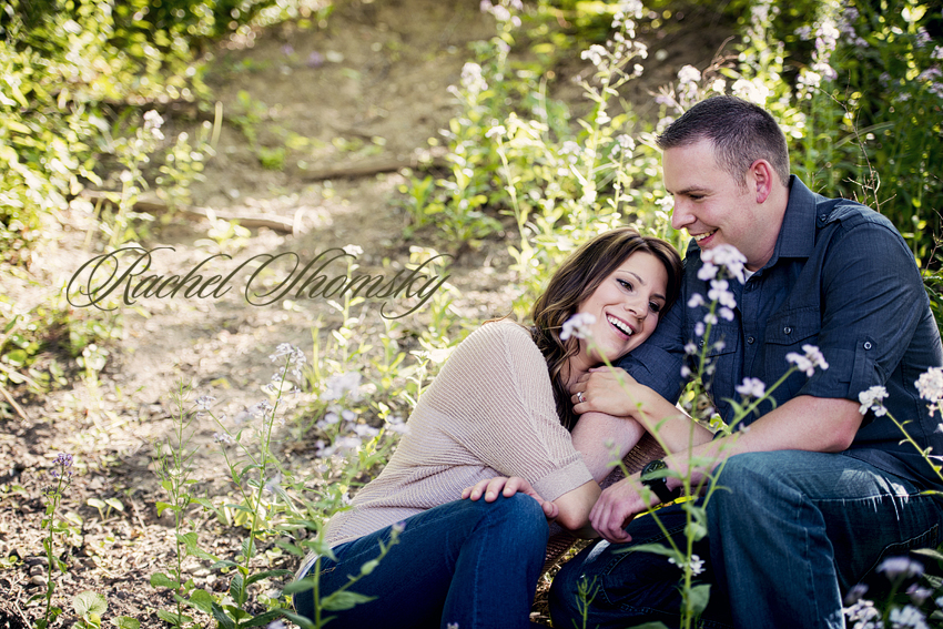 Lindsay and John, a Northville engagement