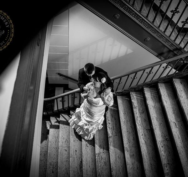 Carly & Chris, a Masonic Temple Wedding