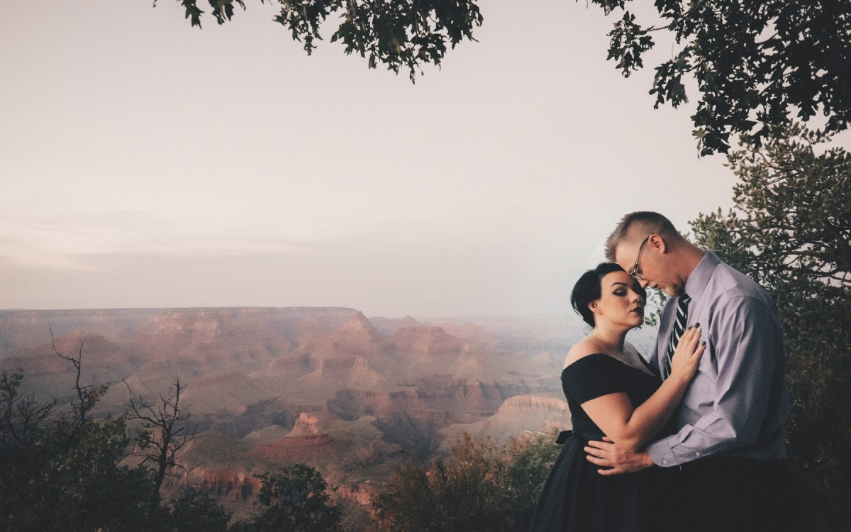 A Grand Canyon Engagement